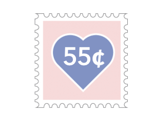 Stamp 55 cents